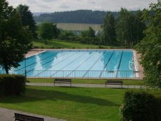 Swimming pool Ostrov