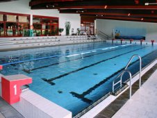 Indoor swimming pool Prachatice