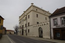 Chateau Dačice - Old castle